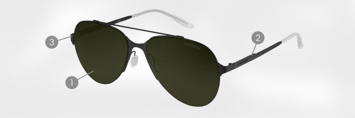 Carrera Sonnenbrillen, die besten Brillen der Marke und ihre Geschichte