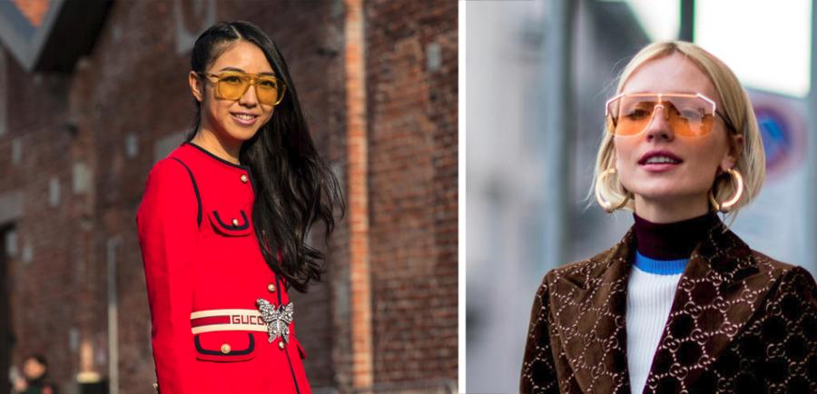 Maxibrillen von Gucci